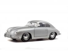 schuco 1:18 Porsche 356 pre-A, silver