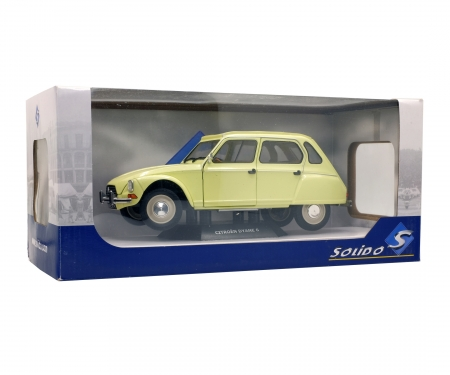schuco 1:18 Citroen Dyane, yellow
