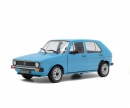 schuco 1:18 VW Golf L, blue, 1983