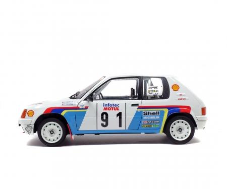 schuco 1:18 Peugeot 205 Rallye, 1989