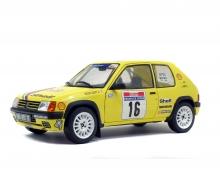 Neu Solido 421185050-1//18 Peugeot 205 Rallye 1989