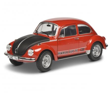 schuco 1:18 VW Beetle 1303 red