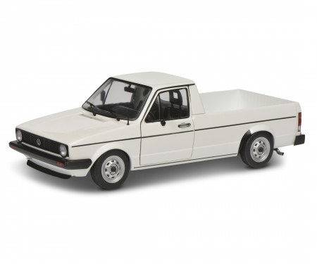 schuco 1:18 VW Caddy white