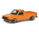 schuco 1:18 VW Caddy orange met.