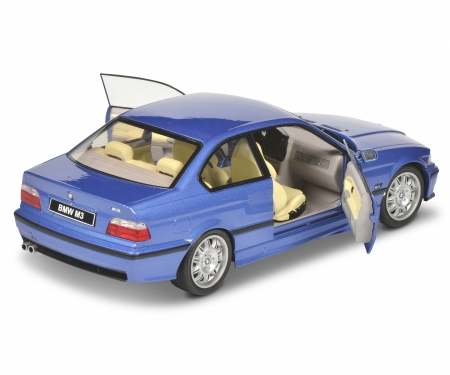 schuco 1:18 BMW E36 Coupé M3 blau