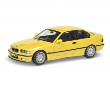 schuco 1:18 BMW E36 Coupé M3 gelb
