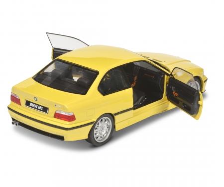 schuco 1:18 BMW E36 Coupé M3 yellow