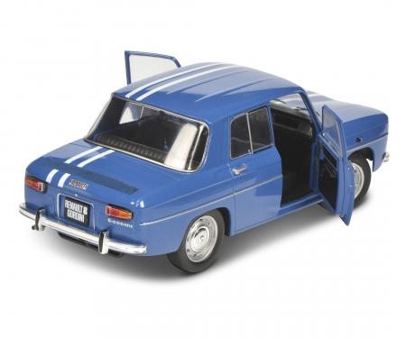 schuco 1:18 Renault 8 Major blue