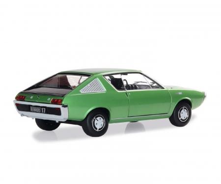 schuco 1:18 Renault R17 green