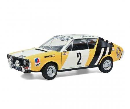 1:18 Renault R17 yellow #2