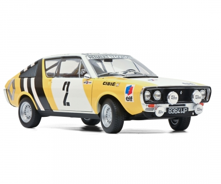 schuco 1:18 Renault R17 yellow #2