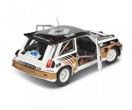 schuco 1:18 Renault 5 Maxi white #1