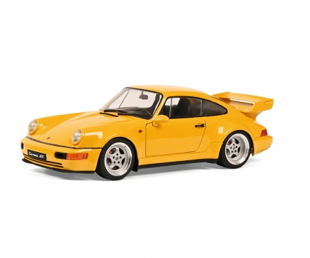 schuco 1:18 Porsche 911 3.8 RS yell.