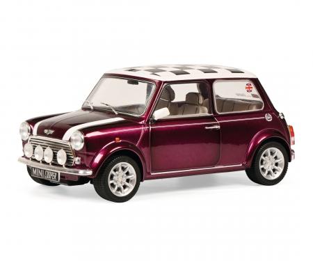 schuco 1:18 Mini Cooper Sport purple