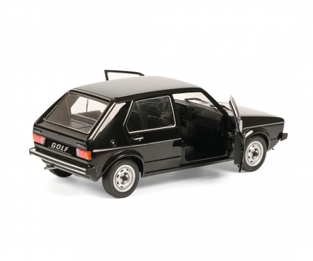 schuco 1:18 VW Golf L black