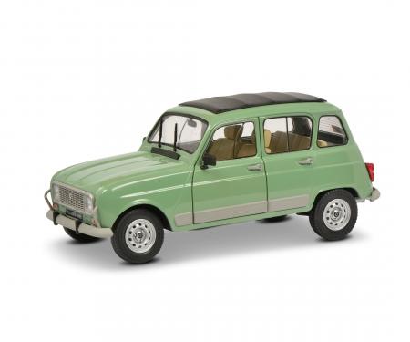 schuco 1:18 Renault 4L GTL green