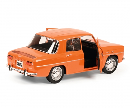 schuco 1:18 Renault R8 TS orange