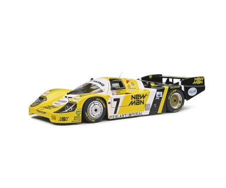 schuco 1:18 Porsche 956 #7 yellow