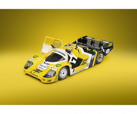 schuco 1:18 Porsche 956 #7 gelb