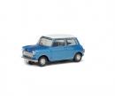 schuco 1:43 Morris Mini Cooper S, blue, 1967