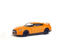 schuco 1:43 Nissan GTR, orange, 2007