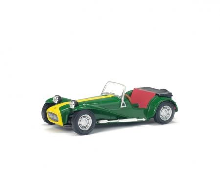 schuco 1:43 Lotus Seven, green, 1967