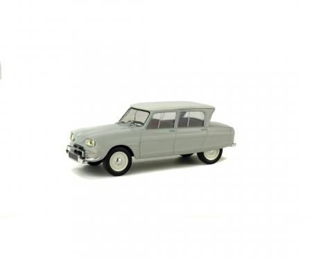 schuco 1:43 Citroën AMI6, light grey, 1963