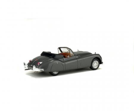 schuco 1:43 Jaguar XK 140, grey, 1956