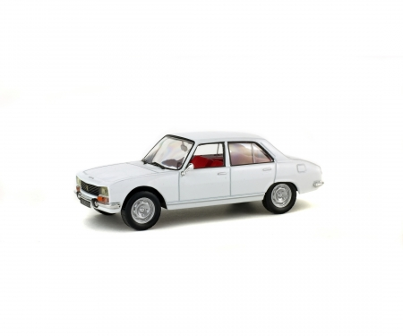 1:43 Peugeot 504 Berline, weiß, 1969
