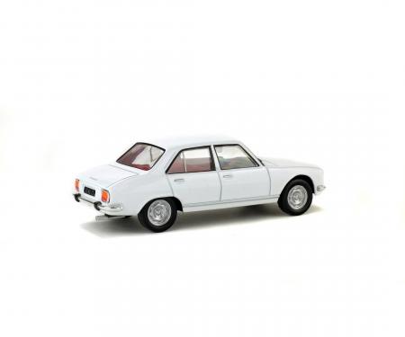 1:43 Peugeot 504 Berline, white, 1969