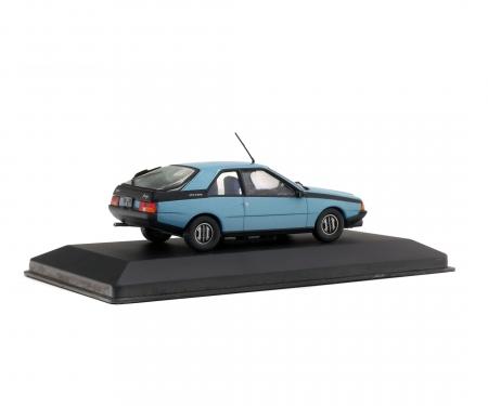 schuco 1:43 Renault Fuego, blue, 1982