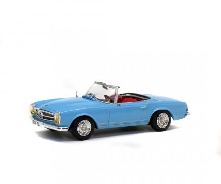 1:43 MB 230 SL, blue, 1963