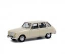 schuco 1:43 Renault 6, white, 1970