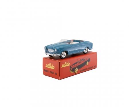 schuco 1:43 Peugeot 403 Cabrio blue
