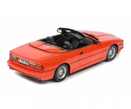 schuco BMW 850i Cabriolet, rot, 1:18