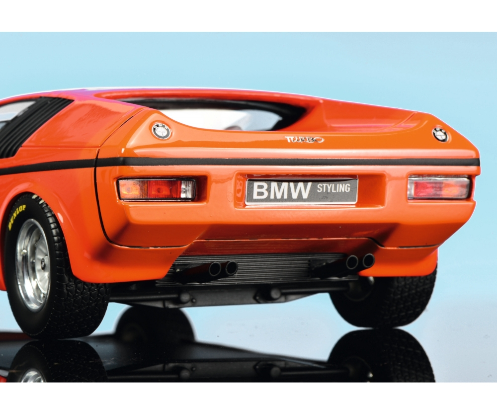 Bmw Turbo X1 E25 1972 Orange 1 18 Pro R 18 Car Models Models