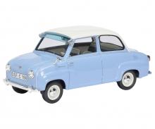 Goggomobil Limousine, hellblau/weiß 1:18