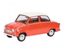 Goggomobil Limousine, rot/weiß 1:18
