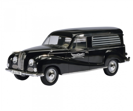 "BMW 502 ""Barockengel"" hearse, 1:18"