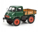 schuco Mercedes-Benz Unimog 401, green, 1:18