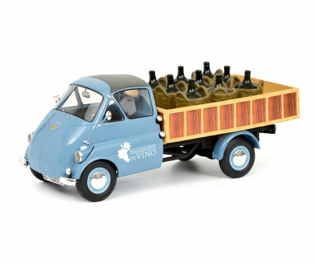 "schuco Isocarro pick-up with wine load ""Transporte de Vino"" 1:18"