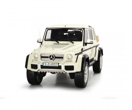 schuco Mercedes-Maybach G650 Landaulet, white, 1:18