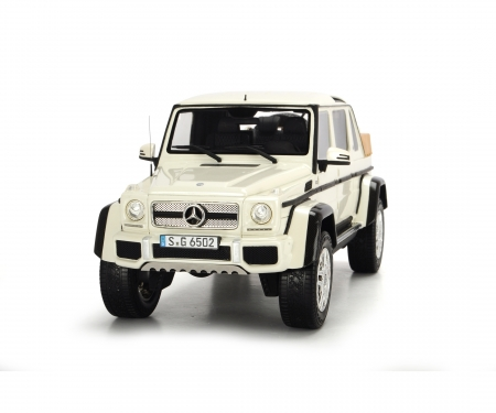 Mercedes-Maybach G650 Landaulet, white, 1:18