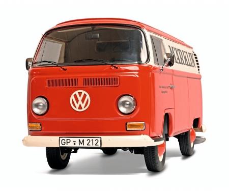 schuco MHI VW T2a van 1:18