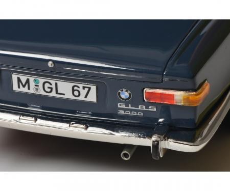 schuco BMW Glas 3000 V8, blue, 1:18