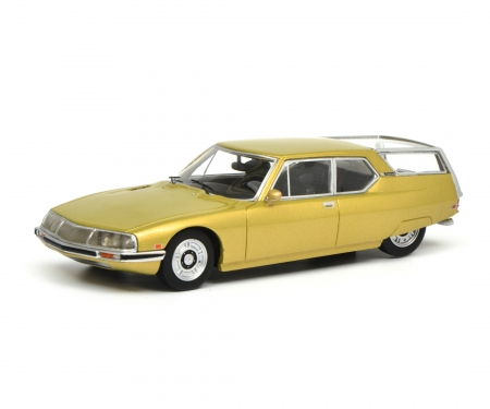 "schuco Citroën SM ""Shooting Brake"", gold metallic, 1:18"