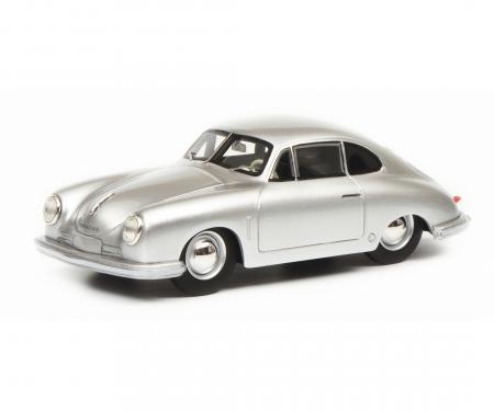 schuco Porsche 356 Gmünd Coupé, silver, 1:18