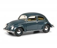 schuco VW Kaefer split window, blue 1:18