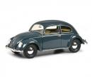 schuco VW Brezelkäfer, blau 1:18