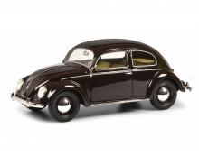 schuco VW Kaefer split window red 1:18